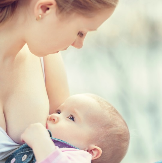 Each time you nurse, you will feel more confident and at ease with breastfeeding your baby.