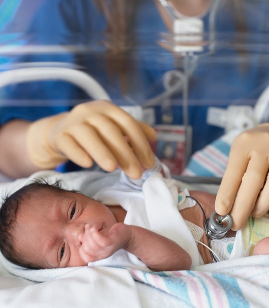 The NICU can help you and your partner get through this stressful time.