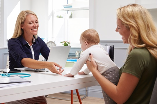 Make an appointment to get all the helpful WIC benefits